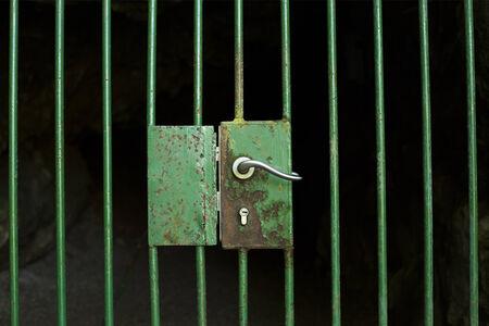 Locked door photo