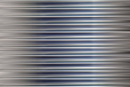 Blue metal stripes, soft background. photo