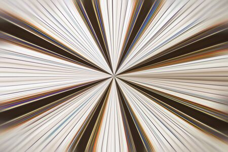 warp: Abstract warp hole with lines, endless view.
