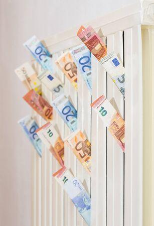 losing money: Losing money through heat.