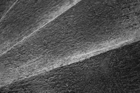 man made structure: Dramatic concrete steps leading down to somewhere.