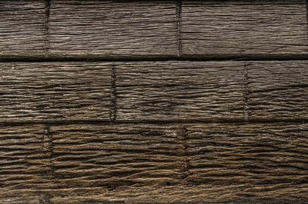 Rough wooden door texture close up