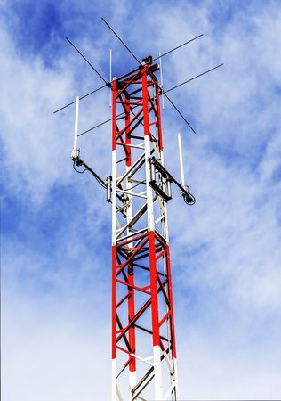 Small antenna for receiving data.