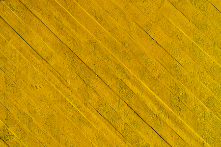 Yellow wall background with lines. Stok Fotoğraf - 120368628