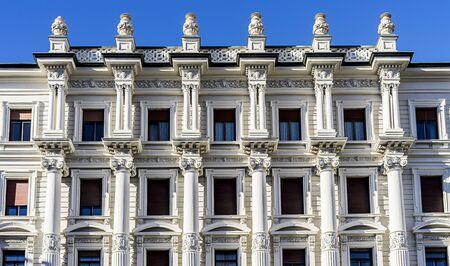 Trieste, Italy, EU - Yanuary 3, 2019: Gruppo BNP Paribas Trieste company