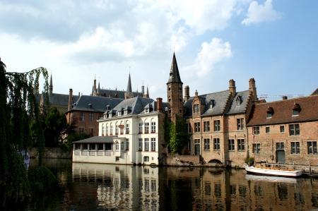 Canals in Brugge Belgium