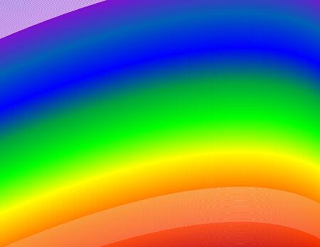 Rainbow Background Çizim