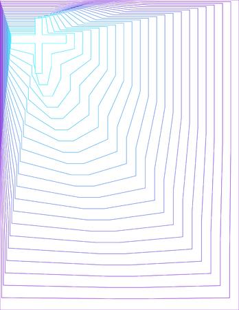 Peacock-Purple Cross Background