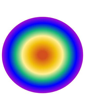 Rainbow Bullseye Çizim