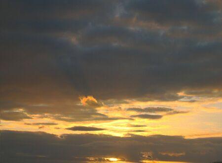 brilliant sunrises Stock Photo