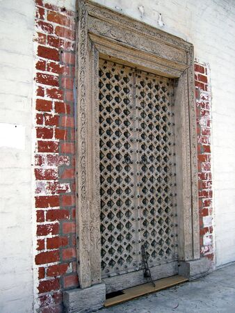 medevil wooden door 1