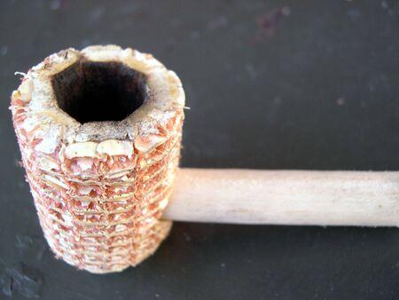 corn cobbed pipe Stock Photo