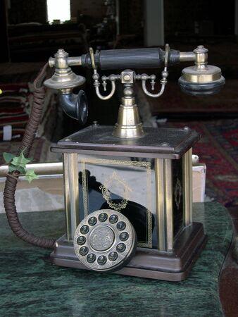 classic style phone 2 Stock Photo