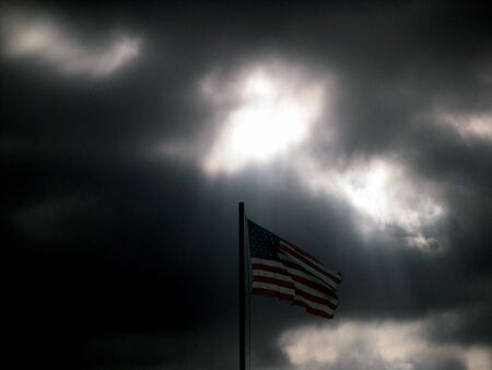 America shiningh through