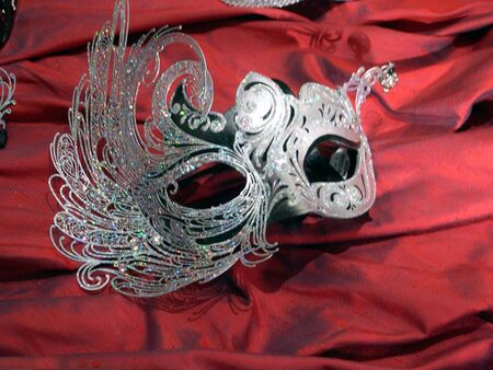 エレガントなマスク 写真素材 - 3422786