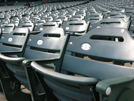 empty sstadium seats
