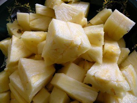 pineapple wedges Zdjęcie Seryjne