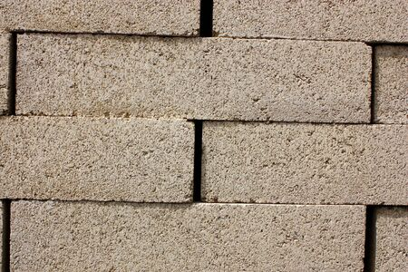 Stack of bricks ready to be used for construction Stock Photo - 4575423
