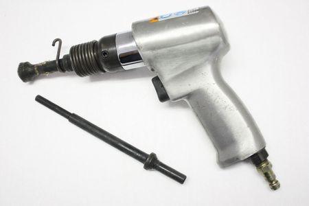 A mechanics air hammer tool Stock Photo