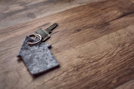 Latchkey with key chain