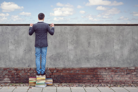 Reading books broadens your horizon