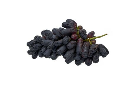 Delicious sapphire grapes isolated on white background Banque d'images