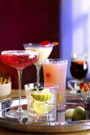alcoholic drinks: Cocktail party Stock Photo