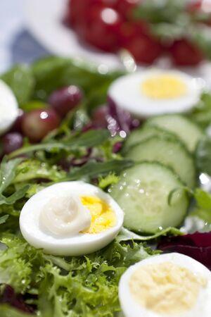 Egg mayonaise salad