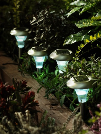 butterfly garden: Garden Solar lights