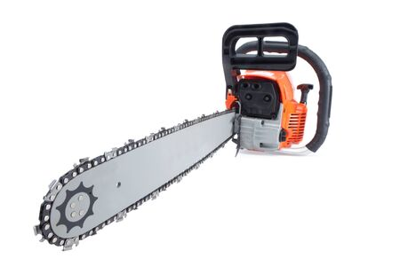 Chainsaw Stock Photo