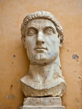 Statue Head of Emporer Constantine