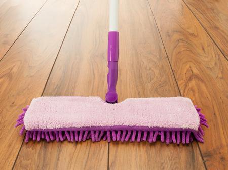 floor mop Stock Photo