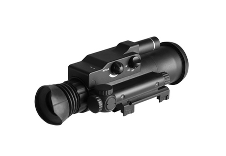 monocular: Night Vision Monocular isolated on a white background
