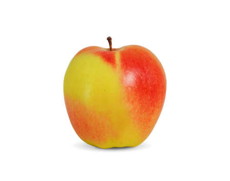 Beautiful apple on white background Stock Photo - 12784990