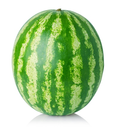 Watermelon isolated on white background Stock Photo - 14937710