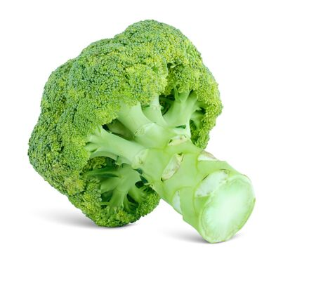 grade of cabbage broccoli, isolated on the white Stock Photo - 15924241