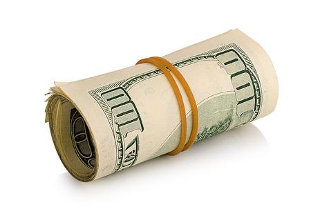 bankroll: bundle of dollars