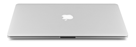 15 inch: SOCHI, RUSSIA - OCTOBER 11 , 2015: Photo of a MacBook Pro. MacBook Pro Retina is a laptop developed by Apple Inc.