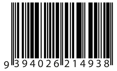 identify: bar code to identify the product. vector