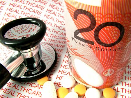 Healthcare money costs in Australia