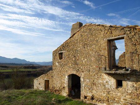 遺跡の風景 写真素材