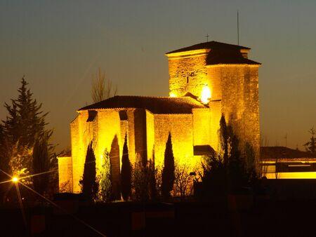 saintliness: Church of Noain