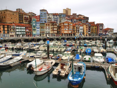 Bermeo Seaport Stock Photo - 13340333