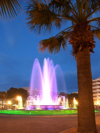 Colorful Fountain Stock Photo - 13341550