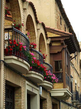 Olite Balconies 01 photo