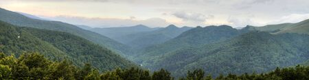 Panoramic view of the french pyrenees