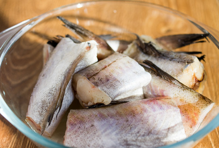 alaska pollock: Fresh, raw fish - Walleye pollock, Alaska pollock