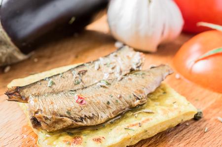 sardines: Tapas with fish, sardines or sprats