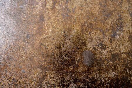 steel sheet: Old sheet of black steel grated metal background