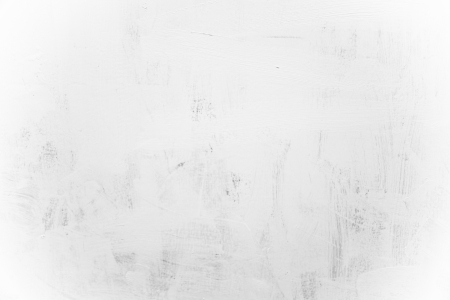 Background of  white oil paint strokes on canvas  Stock Photo